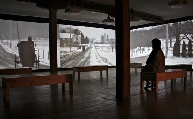 A video installation in the land of Andrew Wyeth hellip
