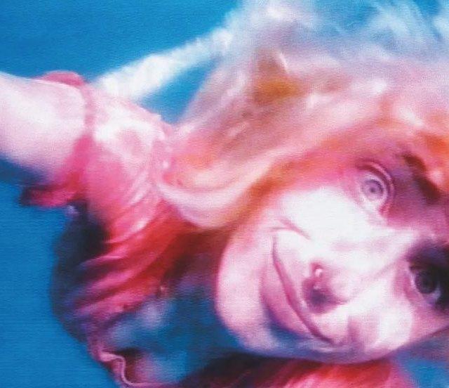 Pipilotti Rist Sip My Ocean 1996 still twochannel video installationhellip