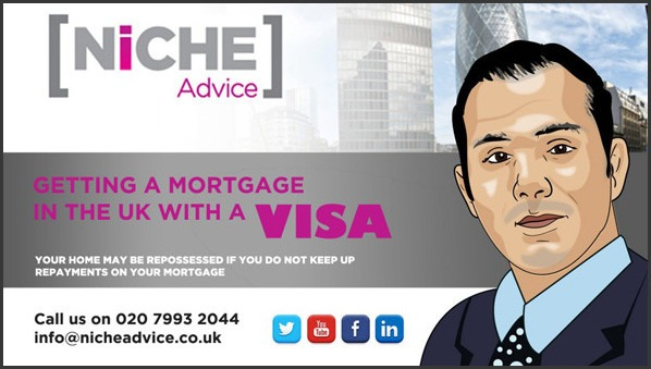 Mortgage with a visa