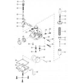 Mikuni VM18 Round Slide 18mm Carburetor VM18-144 Genuine