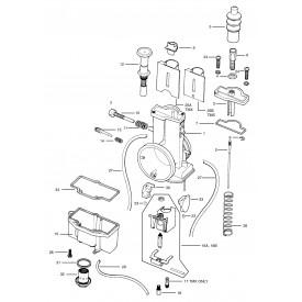 Mikuni TMX35 Flat Slide 35mm Carburetor TM35-1 Genuine