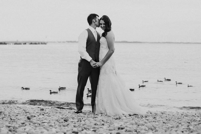 Lake Ontario wedding