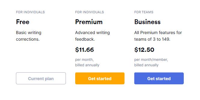 grammatical pricing