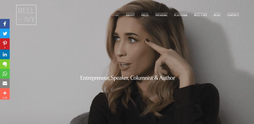 Cynthia Johnson personnel web page