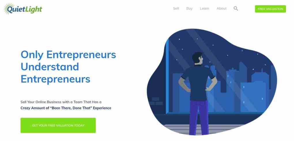 buy website business