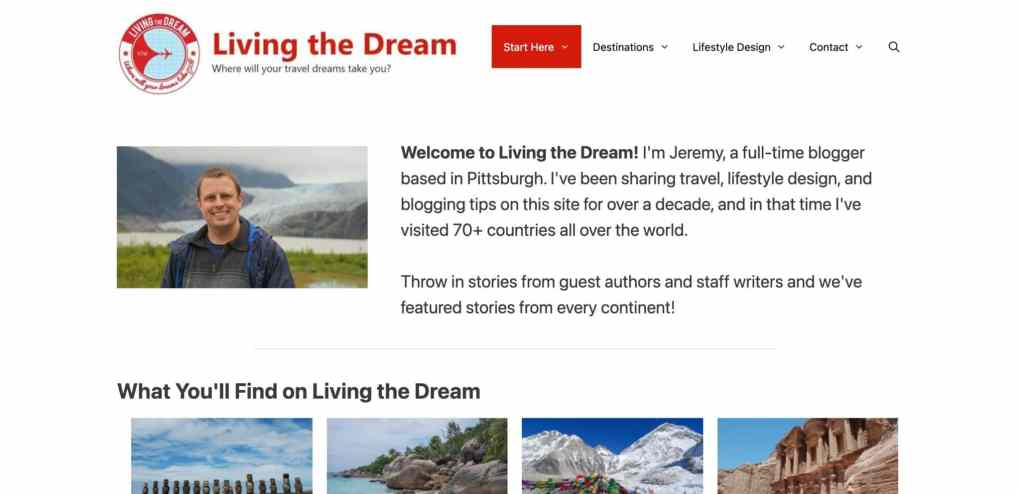 website for affiliate marketing