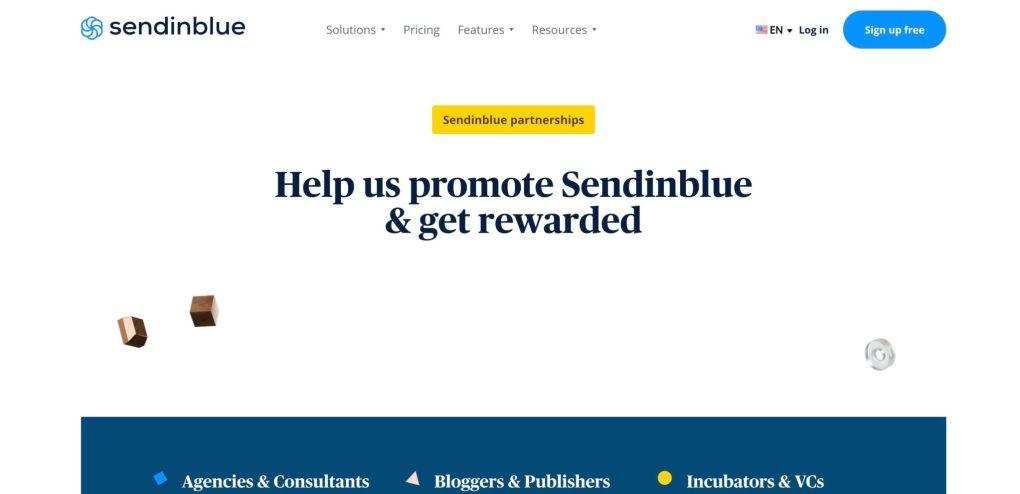 sendinblue email marketing program