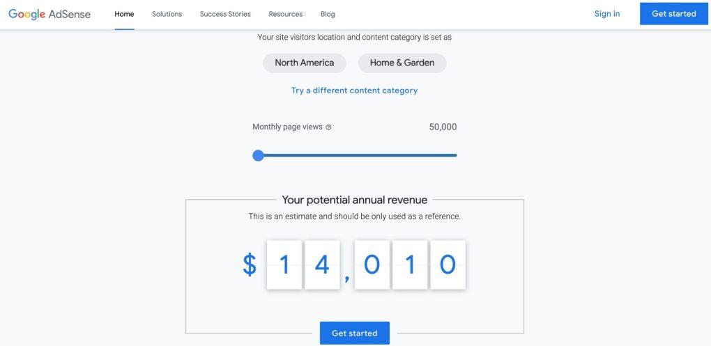 Wie viel zahlt Google AdSense pro Seitenaufruf?