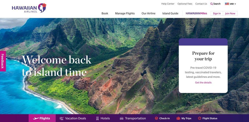 Hawaiian airlines affiliate program