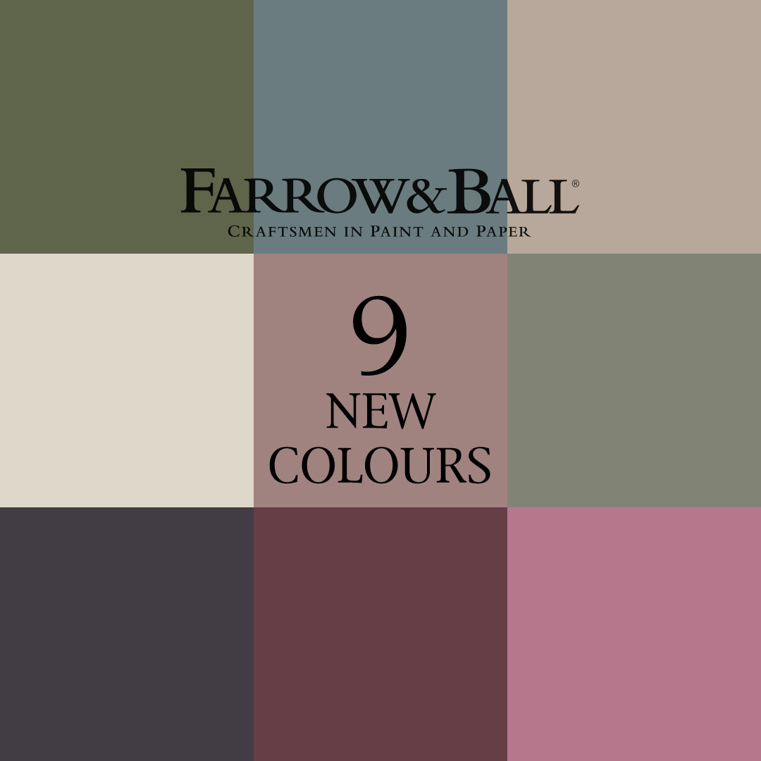 Farrow Ball Nine New Colours Of 2018 To Paint Your Kitchen Cabinetry Nicholas Bridger