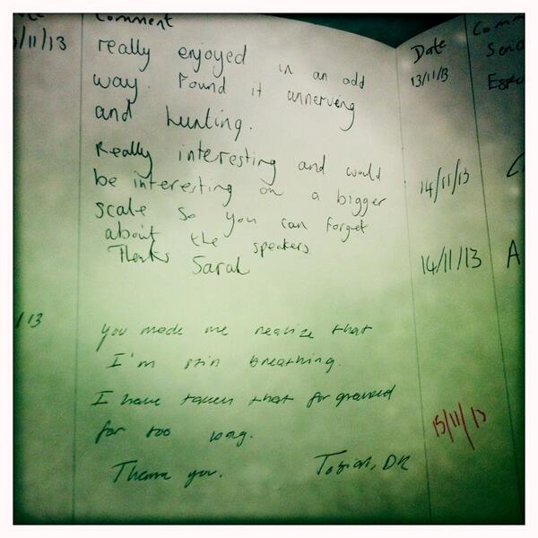 HearAfter comments at GoMA