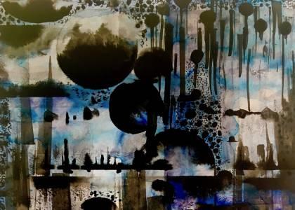 See Through Blue #8 (detail) © Nichola Scrutton