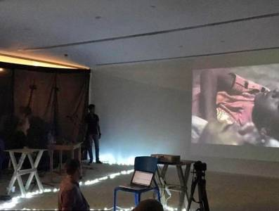 Video Jam Perf Colombo Biennale