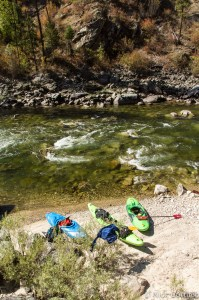 Beautiful clear water and sandy beaches -- hard to complain about this river even at bare minimum flows in September.