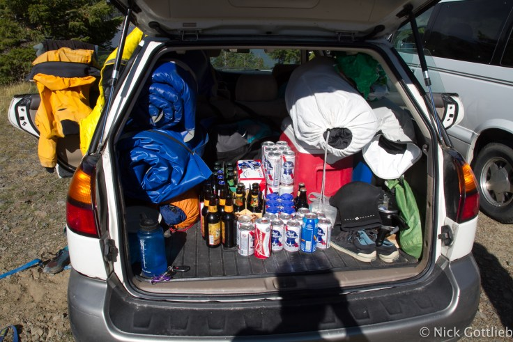 I managed to bring home this large supply of full-strength beer from the informal event, so when the weekend rolled around this year, we didn't hesitate to make the drive.