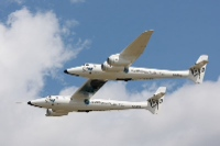 Virgin Galactic White Knight 2 in the Air