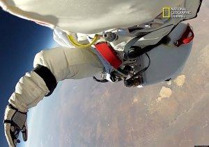Felix Baumgartner Space Dive / Copyright National Geographic