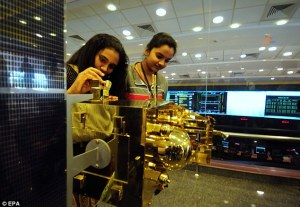 Indian Engineers study MOM Model. Copyright EPA