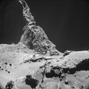 Photo of Comet 67P taken by Philae. c/ESA.int