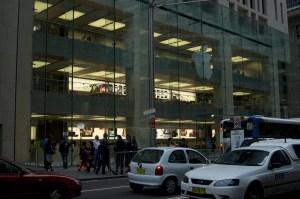 Apple Store George Street Sydney Opening