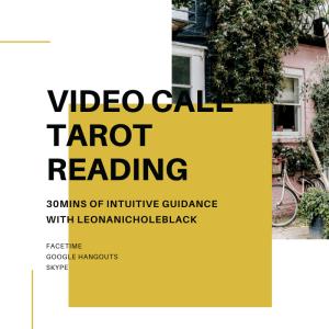 VIDEO CALL TAROT READING