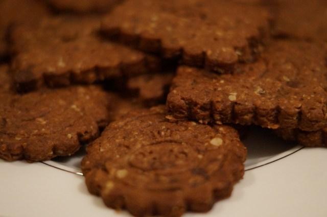 Chocolate Breakfast Cookies — Biscuits Chocolats Façon Petit Déjeuner