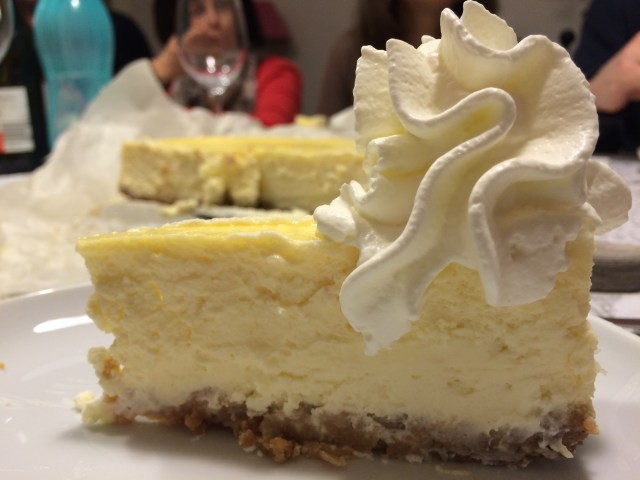 Nichole's Famous Rich and Creamy Homemade New York Style Cheesecake