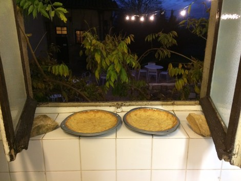 pie crusts window