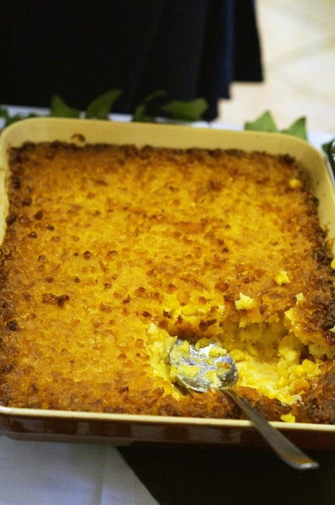 Thanksgiving Cornbread Casserole