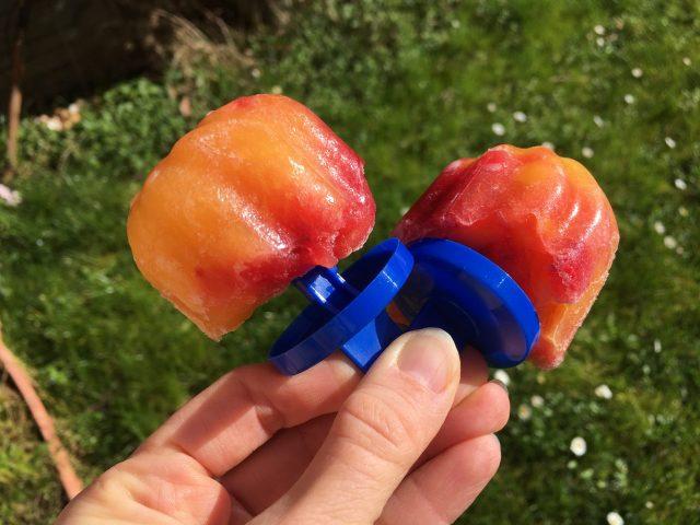 Orange Raspberry Mango Jello