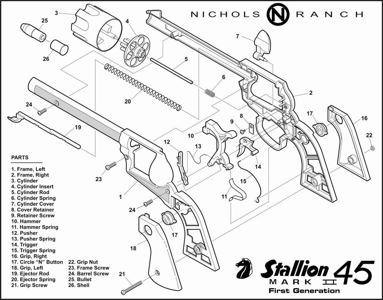 hight resolution of cap gun schematics get free image about wiring diagram thompson center contender diagram thompson center encore