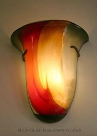 Nicholson Blown Glass Chandeliers & Sconces