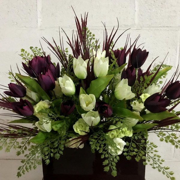 Tulip Arrangement Artificial Trees And Flowers