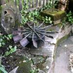 Schaufelrad der Kugelmühle