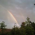Regenbogen über Wolkersdorf
