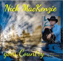 Front Cover Nick MacKenzie Country Album 2019