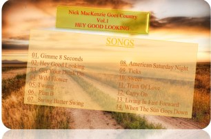 Nick MacKenzie Goes Country Vol.1 Tracklist