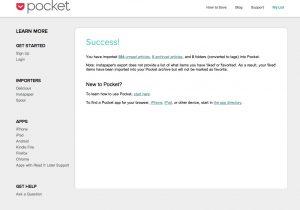 getpocket import