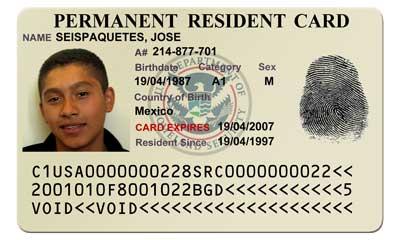 Fake Green Card