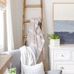 Simple Diy Angled Blanket Ladder Tutorial Nick Alicia