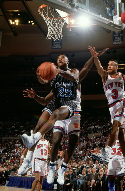 1st Magic Draft Pick Ever All Time Leading Scorer Nick Anderson 25