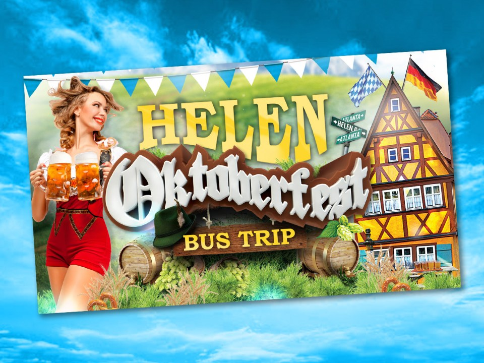 Atlanta Bar Tours - Helen Oktoberfest Bus Trip - Digital Media Design