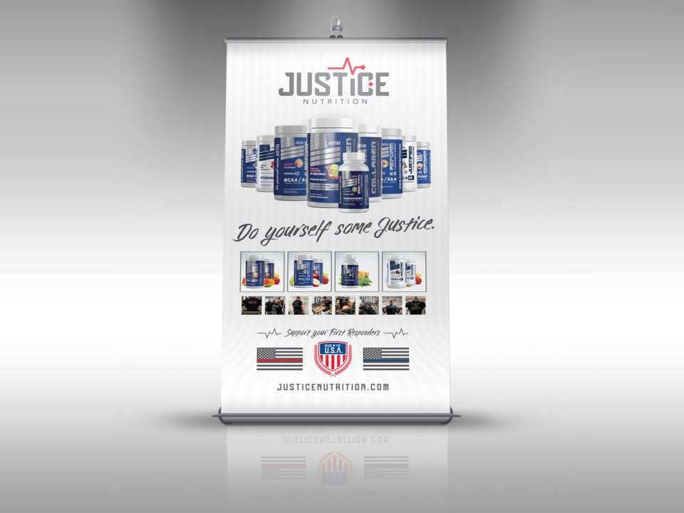 Trade Show Stand-Up Roll-Up Banner