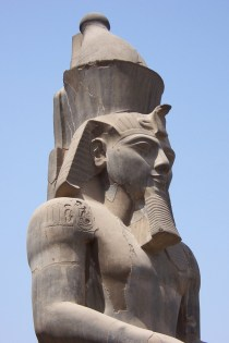 Ramesses II. He gets everywhere. Biggest statues, biggest engravings and biggest tomb.