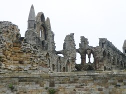 Whitby Abbey ruins.