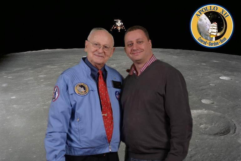 Alan Bean and Nick Cook