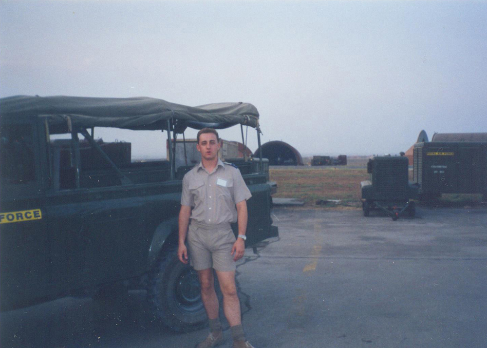 Incirlik, Turkey 1994. In support of No Fly Zone for Northern Iraq