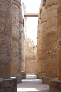 Hypostyle Hall comprising of 134 columns, some were 24 meters high.