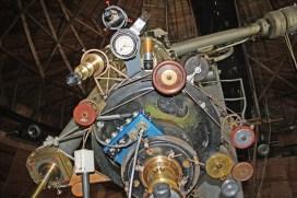Instrument cluster Alvan Clark telescope