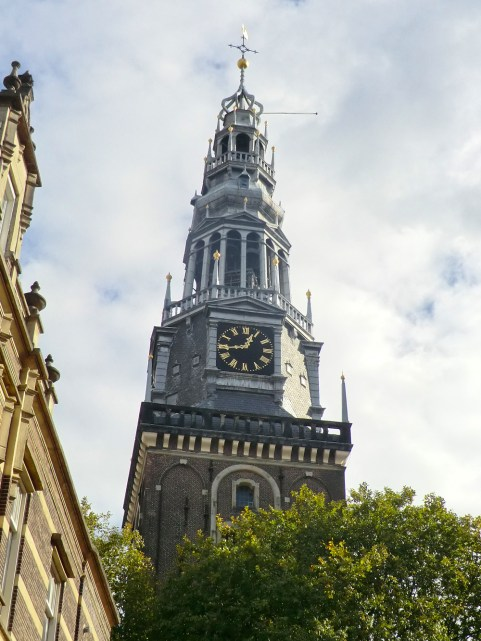 Oude Kerk clock tower